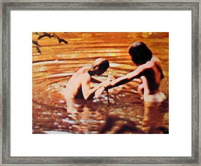 Woodstock Cover 2 Framed Print by Marcello Cicchini
