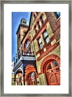 Woodstock Opera House Tower Framed Print by Roger Passman