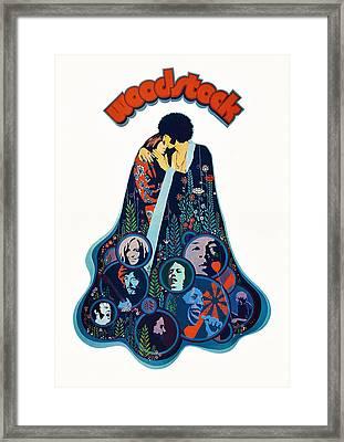 Woodstock, Poster, 1970 Framed Print