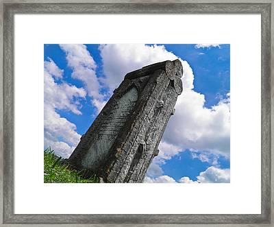 Woodstone Framed Print
