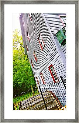 Woodstown Mill Framed Print by Joshua Rommelmann