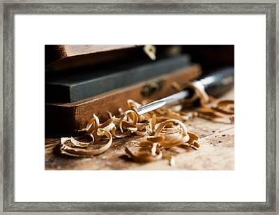 Woodworking Framed Print by Aaron Aldrich