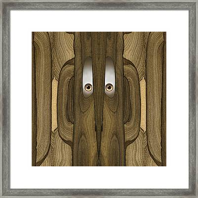 Woody #19 Framed Print by Rick Mosher