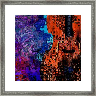 Woody Sound Framed Print by Jack Zulli