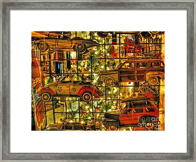 Woody Tree Framed Print