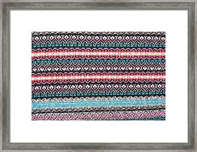 Wool Fabric Framed Print by Tom Gowanlock