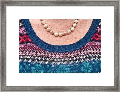 Wool Top Framed Print by Tom Gowanlock