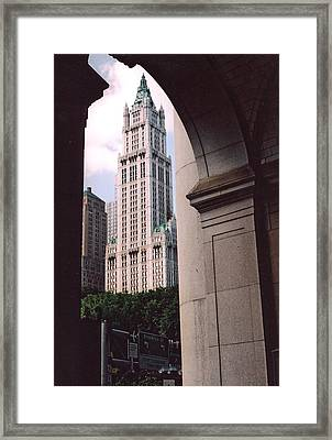 Woolworth Building Framed Print
