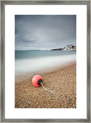 Worbarrow Bay Buoy Framed Print by Chris Frost