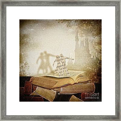 Words Framed Print by Mo T