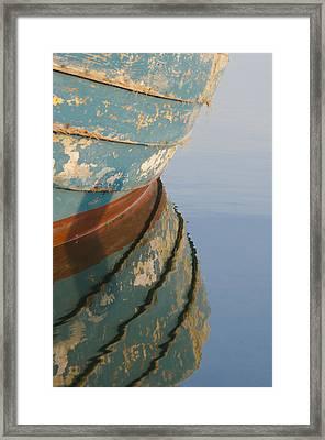 Work Boat Framed Print