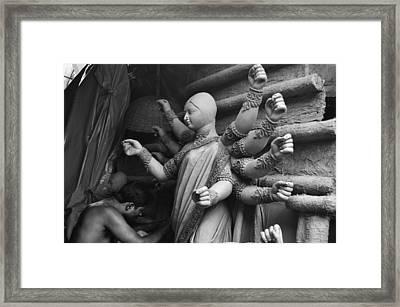 Work Of Art Framed Print by Atin Saha