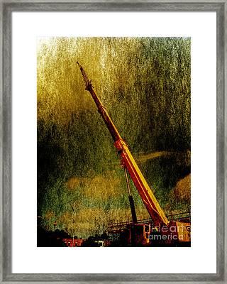 Work Of Art Framed Print by Dave Bosse