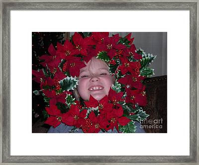 Work Of Art Framed Print by Theresa Davis