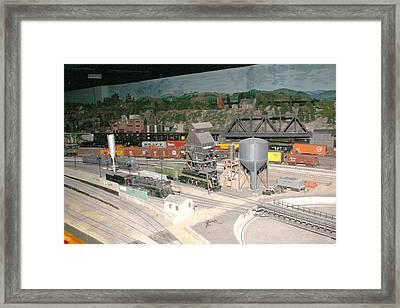 Work Yard Framed Print by Hugh McClean