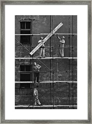 Workers 2 Framed Print