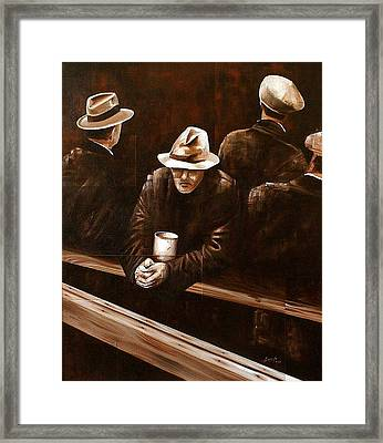 Working Class Framed Print by Laurend Doumba