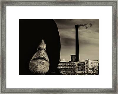 Working Class Man Framed Print by Bob Orsillo