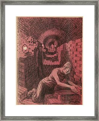 Working Conditions And  Industrial Framed Print