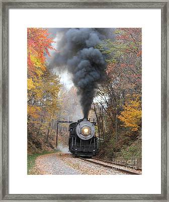 Framed Print featuring the photograph Working Hard by ELDavis Photography