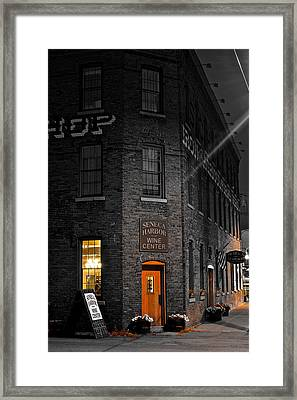 Working Late Framed Print