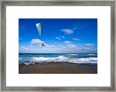 Working On The Bucket List Framed Print by Mark Andrew Thomas