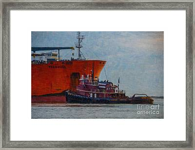 Working Treasure Framed Print by Dale Powell