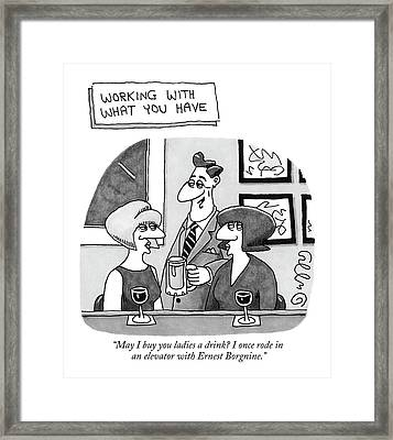 'working With What You Have'  May I Buy Framed Print by J.C.  Duffy