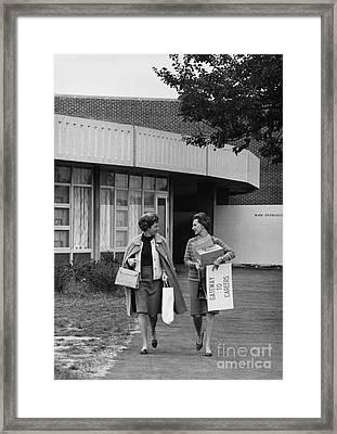 Working Women Framed Print