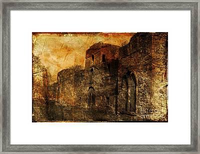 Workington Hall Framed Print by Randi Grace Nilsberg