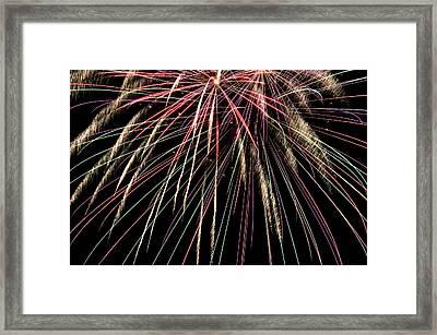Works Of Fire V Framed Print