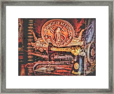 Workshop Framed Print by Mo T