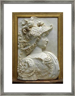 Workshop Of Andrea Del Verrocchio, Alexander The Great Framed Print by Litz Collection