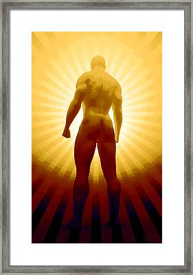 World Champion Framed Print by Matt Lindley