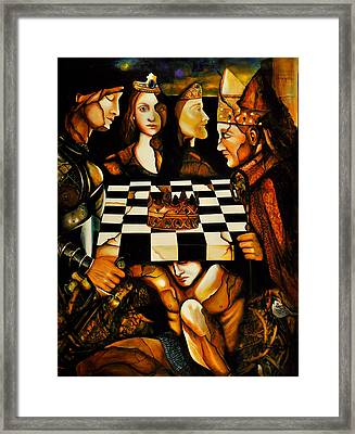World Chess   Framed Print