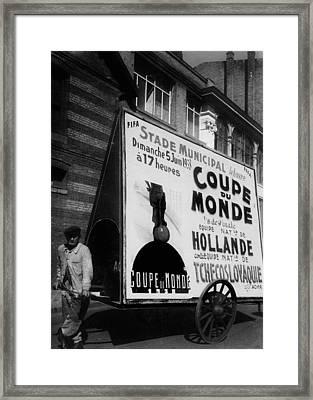 World Cup 1938 Framed Print