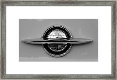 World Emblem  Framed Print by David Lee Thompson