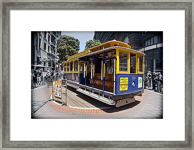World Famous Framed Print by Kelley King