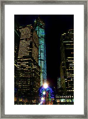 World Financial Center Framed Print by Mariola Bitner