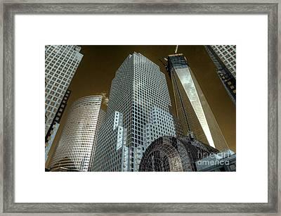 World Financial Centre 3 Framed Print