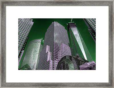 World Financial Centre 4 Framed Print