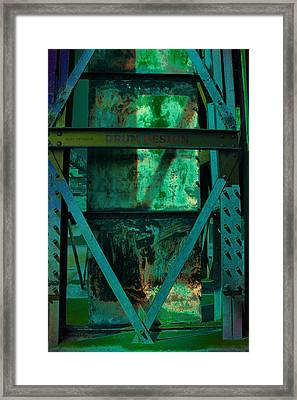 World Heritage Steel Works Germany Framed Print