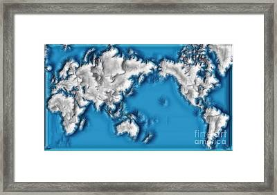 World Impressions - Ice Age Framed Print by Kaye Menner