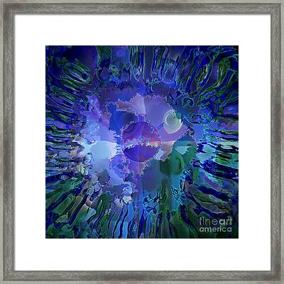 World In A Cell Framed Print by Ursula Freer
