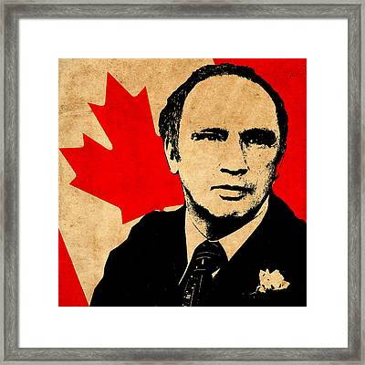 World Leaders 7 Framed Print by Andrew Fare