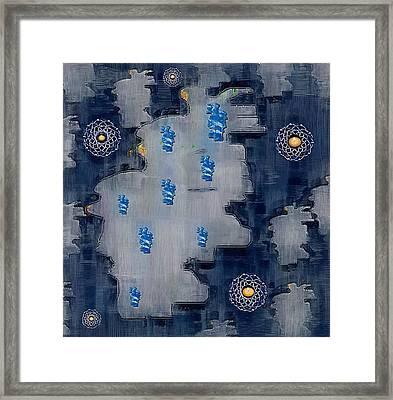 World Map Decorative Framed Print