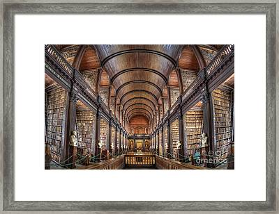 World Of Books Framed Print