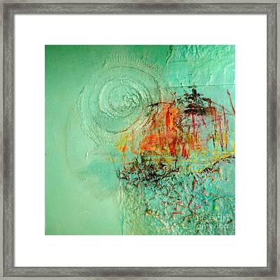 World Of Swirl Framed Print by Lisa Schafer