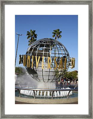 World Of Universal Framed Print