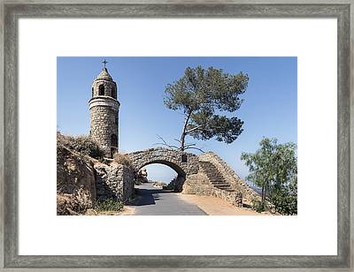 World Peace Bridge In Riverside Framed Print